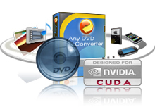 Any DVD Converter Professional = DVD Ripper + MPEG Converter + AVI Converter + FLV Converter + YouTube Video Converter + MP4 Converter