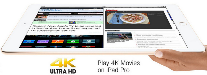 Convert 4k video to iPad Pro