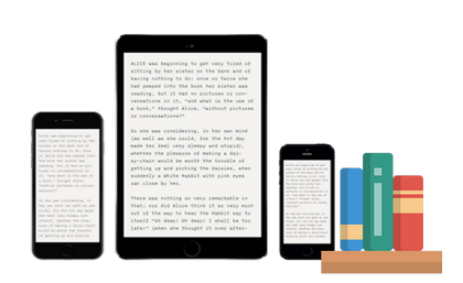 Sync ebooks between several devices