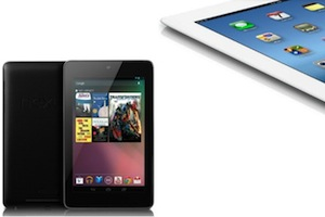 google nexus 7 vs iPad 3