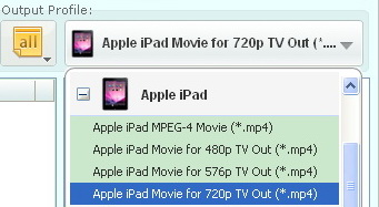 Windows Mobile Video Converter, video to Apple iPad 2